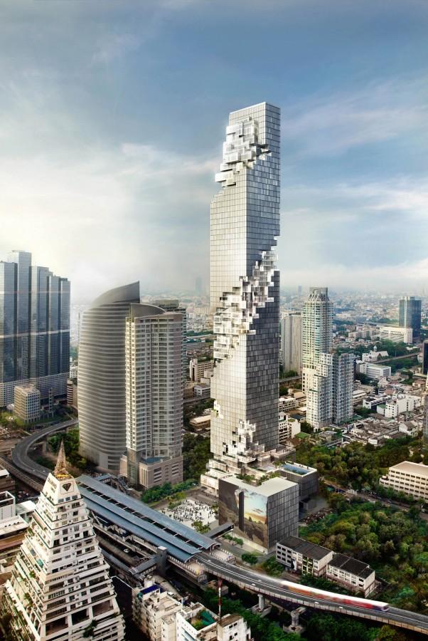 Bangkok, Ole Scheeren MahaNakhon2